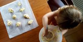 cookies in the making sofie