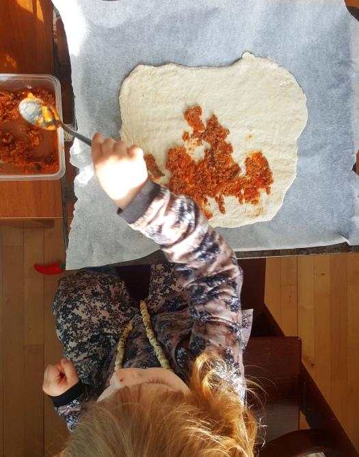 sofie pizza kødsauce